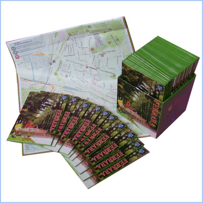 Ferrara Pet's City Map - Mappa dedicata agli animali
