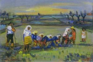 """Aldo Borgonzoni. Arte e ideologia di """"perdurante giovinezza"""""""