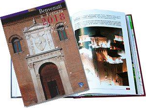 Benvenuti a Ferrara 2018-19 copertina e interno